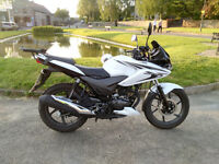Honda CBF125 - 1 owner, immaculate condition, 2489 miles - £1700 - NOW SOLD