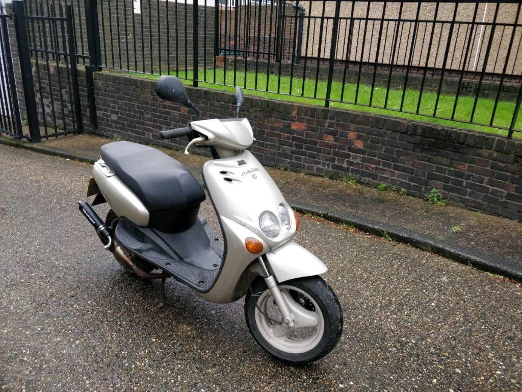 Yamaha neos 125cc 2 stroke moped/scooter, years mot, oerfect runner   in  Kings Cross, London   Gumtree