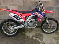 Honda Crf 250 2016 twin pipe