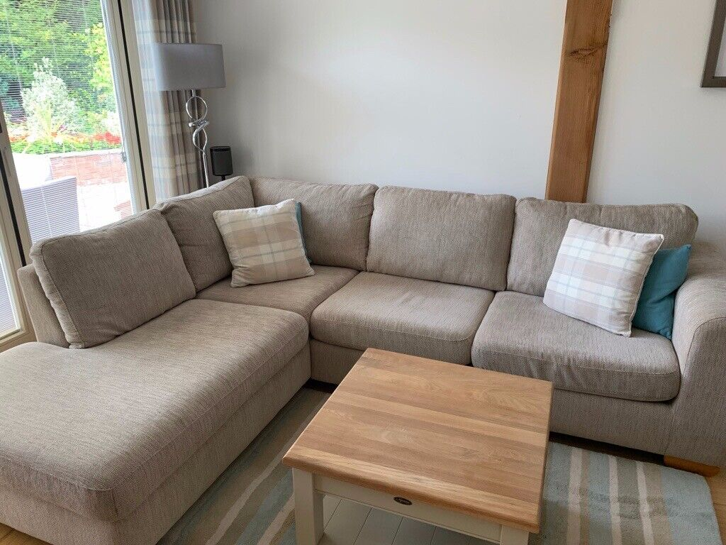 John Lewis Corner Sofa Unmarked Great Condition Fire Retard