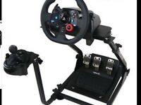 Logitech g29 complete wheel with stand boxed