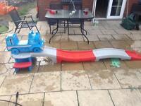 Thomas the tank roller coaster