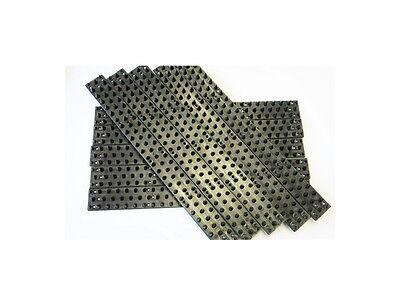 Anti Climb Spikes - Black Wall Cat spikes - 10 x 45 cm spikes Bird Cill spikes