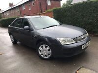 FORD MONDEO 2006 1.8 lx lovely drive