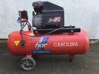 50 Litre Air Compressor + Air Tools