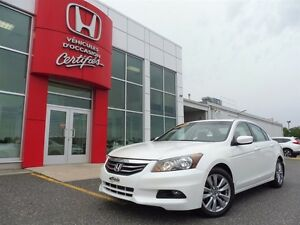 2012 Honda Accord Sedan EX-L + GPS