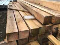 🌲 Wooden/ Timber Posts 2.35m x 85mm x 85mm