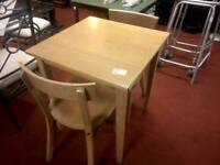 Dining table & 2 chairs tcl 16021