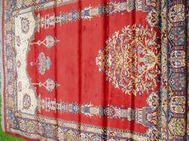 Large prayer rug
