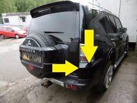 2007+ Mitsubishi Shogun LWB RIGHT OS REAR BUMPER CORNER END