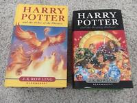 Harry Potter First Edition First Print Books