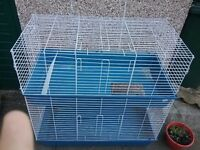 Two tier rabbit/ guinea pig cage