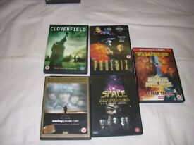 DVD'S for sale all in excellent condition