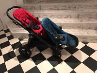 Baby Jogger City Select tandem double buggy