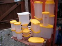 tupperware containers yellow quantity 19