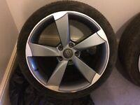 18 inch alloy wheels razor Audi