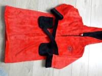 Boys dressing gown new age 5 - 6 years