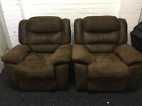 New / Ex Display - LazyBoy Recliner Chair Sofa (2 Available)