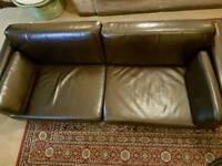 3 seater Ikea Leather Like Sofa