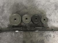 Barbell, dumbbell and weights for sale