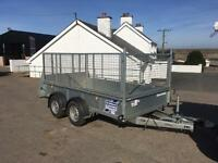 Year old 10x5 ifor Williams trailer no vat