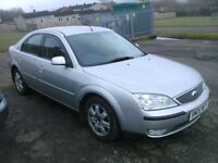 2005 diesel Ford Mondeo 130 tdci automatic hatchback