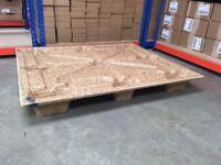 Stackable Pallets 120cm x 100cm (nestable presswood)