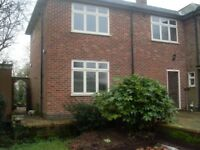Self-contained two bed country extension/flat for Professionals