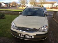 06 Plate Ford Mondeo LX 1.8 Petrol