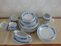 Dinner plates etc. china by Wood & Sons