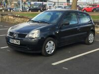 2005 RENAULT CLIO 1.2 RUSH * 3 DOOR * LOW MILES * MOT * IDEAL FIRST CAR * PART EX WELCOME * DELIVERY