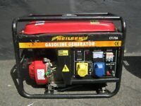 Petrol Generator 110v , 240v and 12vDC 6.5hp