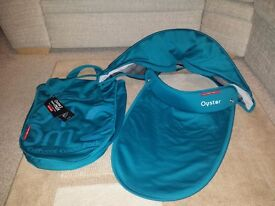 Teal vogue colour pack for Oyster 2/max carrycot brand new