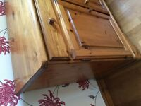 Ducal antique pine sideboard