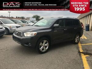 2010 Toyota Highlander LIMITED AWD LEATHER/SUNROOF/7 PASS