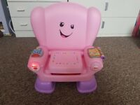 Fisher price kids chair pink