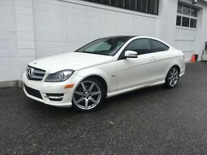 2012 Mercedes-Benz C-Class C350 Coupe! Navigation! Easy Approval