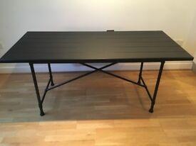 KARPALUND / RYGGESTAD Dinning Table (Black)