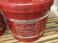 100% whey protein professional by scitec nutrition 5kg tub
