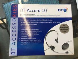 BT Accord 20 Telephone Headset