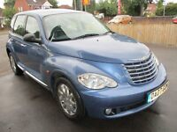 2007 07 CHRYSLER PT CRUISER 2.4 AUTO LOW 46K 1 OWNER CRUISE CD AIR CON GREY LEATHER PX SWAPS