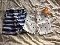 Boys next age 3-4 shorts