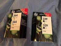 HP 344 + 339 Bundle UNOPENED