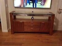 Solid Oak TV, Blu Ray, Sky TV Unit