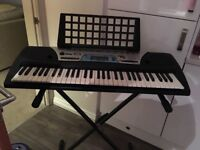 Yamaha PSR-170 Keyboard and Stand. Excellent condition as hardly used. Collection only.