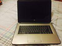 "HP14-AN001NA E2, 14"" Quadcore Laptop with 4GB RAM, 500GB -"