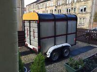 Box trailer kettle large trailer livestock