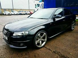 Audi A4 S Line Black Edition 50k FSH. NOT A5 A6 C class c220 merc 320 330 3 series bmw lexus IS