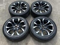 "18"" Wolfrace Assassin Alloy Wheels & Tyres 5X120 VW Transporter T5 T6"