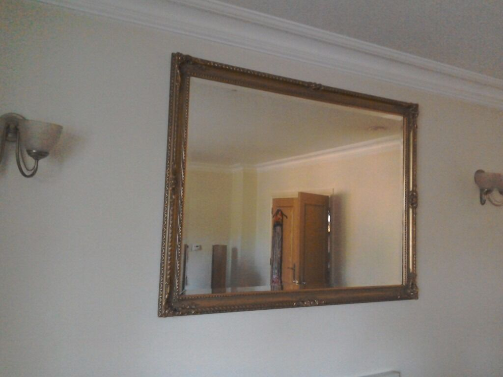 Large gold gilt mirror in rickmansworth hertfordshire gumtree image 1 of 3 amipublicfo Images